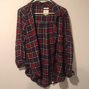 AE soft flannel size M